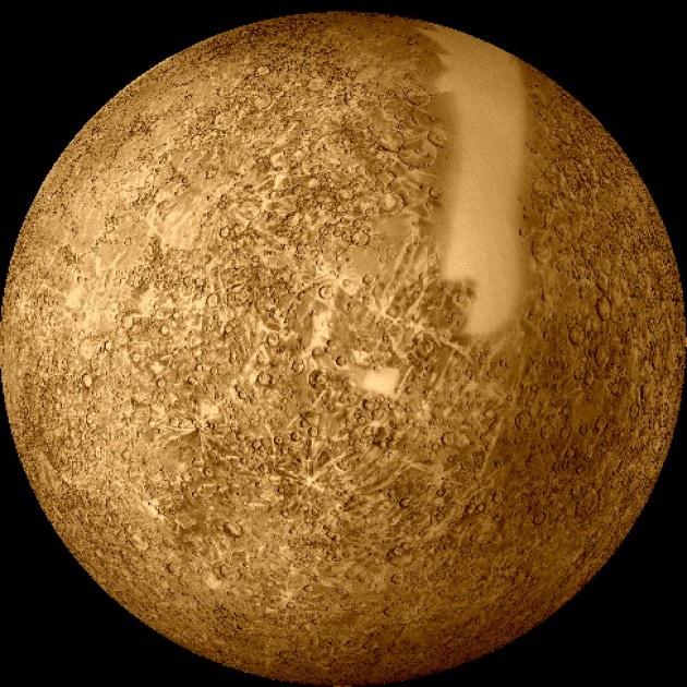 Fiumi di zolfo e neve di ferro nel cuore di Mercurio