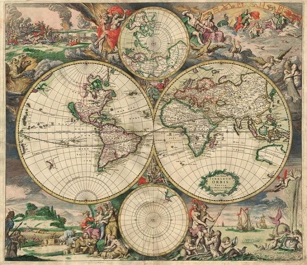 Perché le terre emerse che volgono a sud sono a punta?