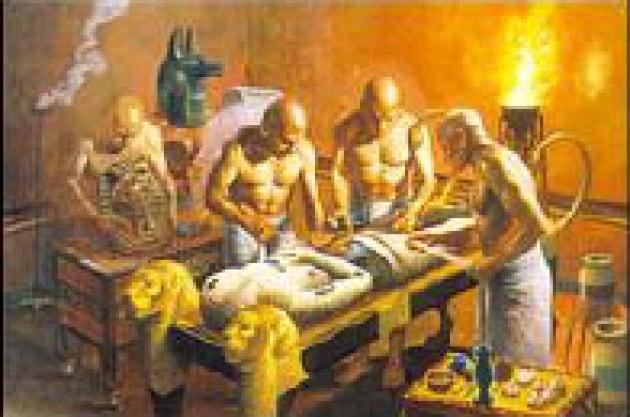 La prima mummia