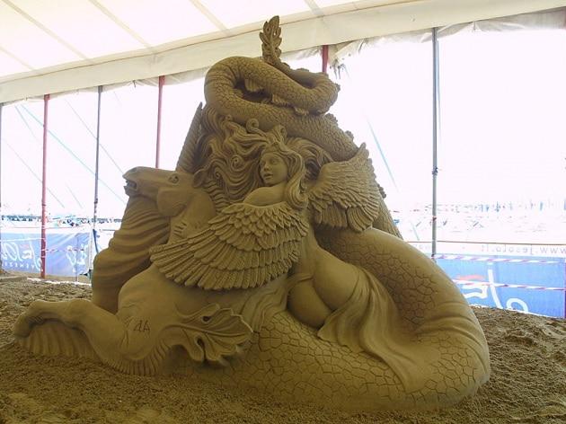Ma che bel castello (di sabbia)...
