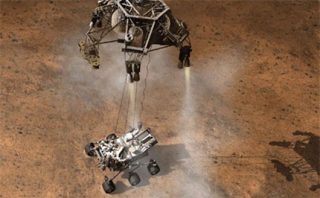 Curiosity e i 7 minuti di terrore dell'atterraggio su Marte