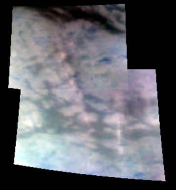 Scoperte montagne di ghiaccio su Titano