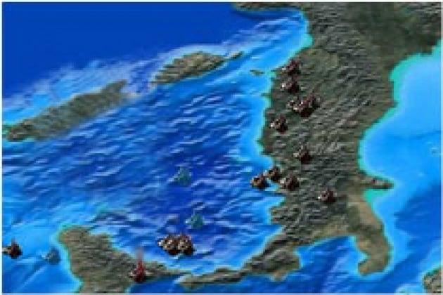 La penisola del fuoco