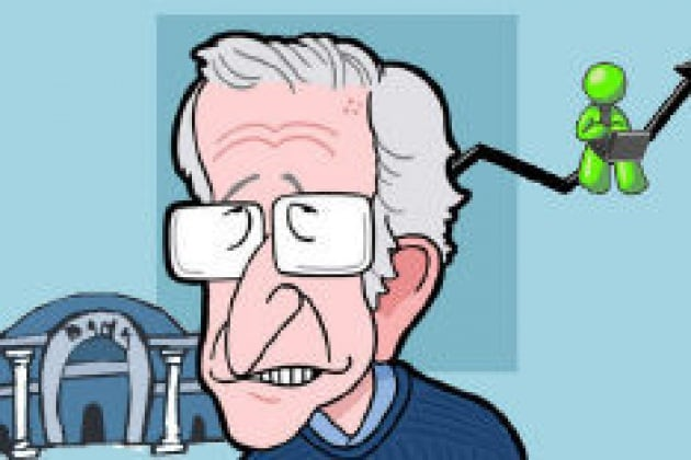 Chomsky: ribellatevi alle banche!