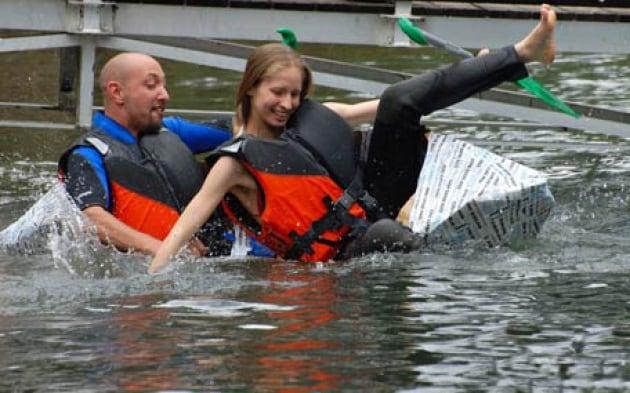Soap Kayak Race 2009