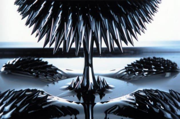 Le sculture liquide di Sachiko Kodama