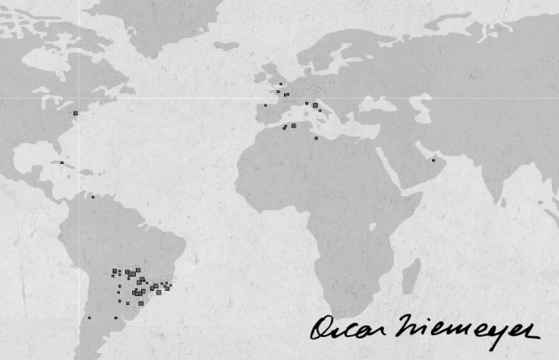 Addio Oscar Niemeyer