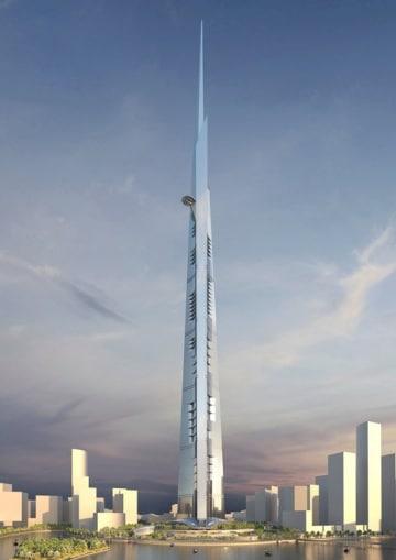 La torre più alta del mondo vista da vicino