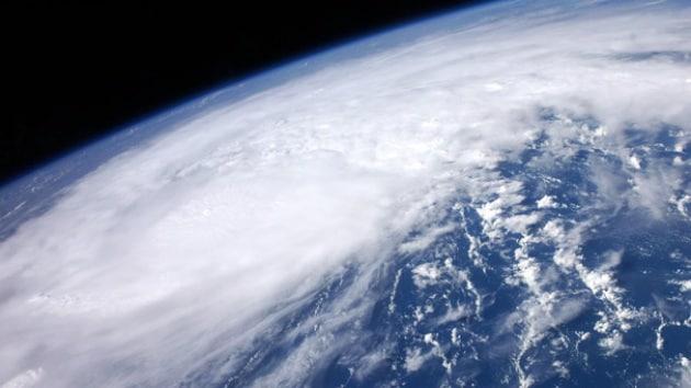 L'uragano Irene visto dallo spazio