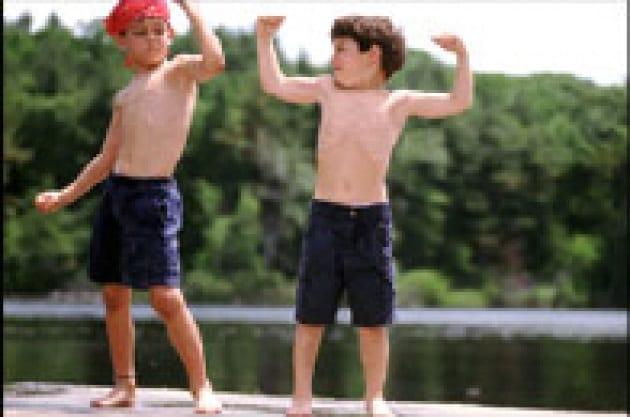 La pubblicità mostra i muscoli
