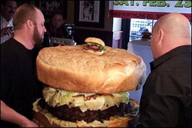 L'hamburger più grosso del mondo!