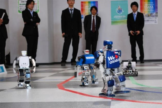 Al via la Robo Marathon, la prima maratona per robot. Segui la nostra diretta video