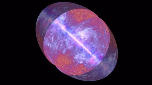 La nuova mappa dell'universo