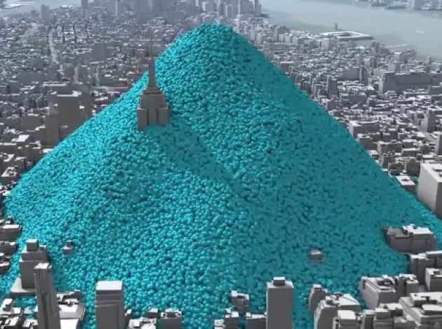 Le emissioni di CO2 di New York seppelliscono Manhattan