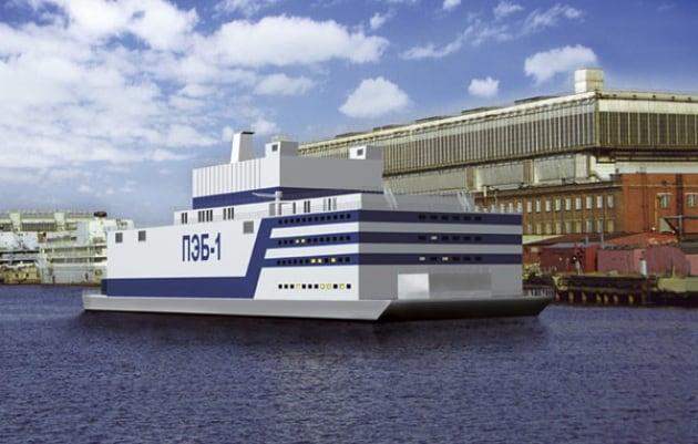 Risultati immagini per centrale nucleare galleggiante russa