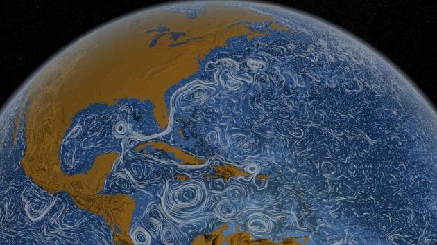 Le correnti oceaniche? Come un quadro di Van Gogh
