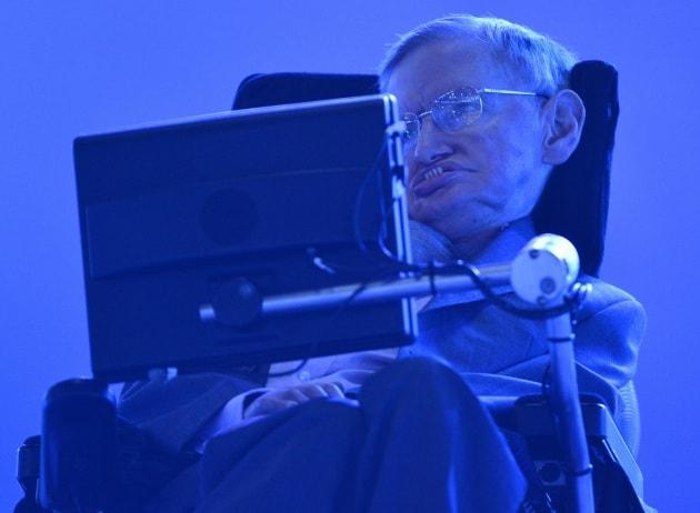 Stephen Hawking apre le paralimpiadi