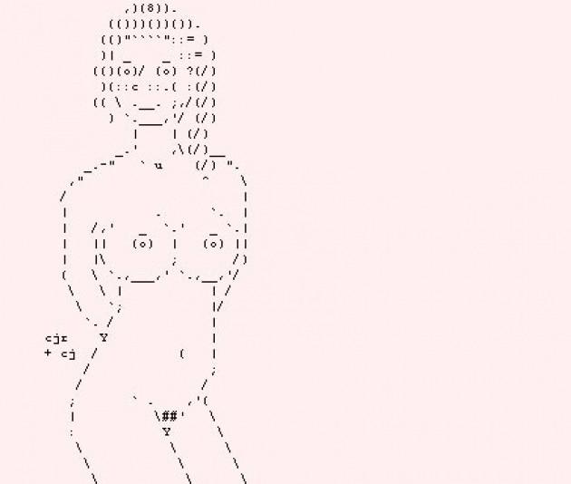 Che cos'è l'ASCII porn?