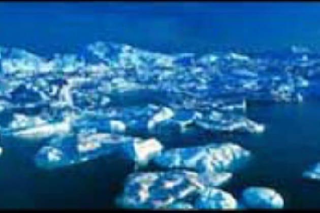 Come mai il ghiaccio polare non è salato?