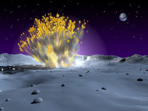 È vero che sulla luna si verificano esplosioni?