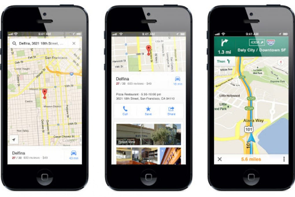 Le Google Maps ritrovano la strada dell'iPhone