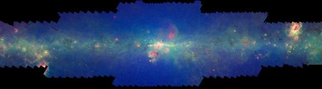 Nuove osservazioni della Via Lattea