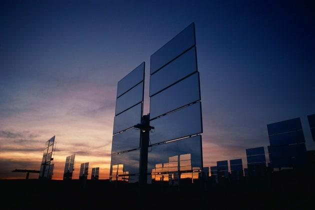 Il pannello solare che funziona al buio