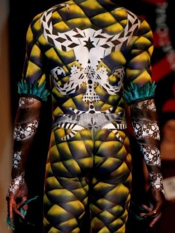 Body painting: il corpo come tavolozza