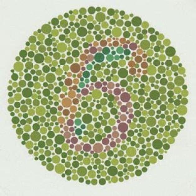 Come si manifesta il daltonismo?