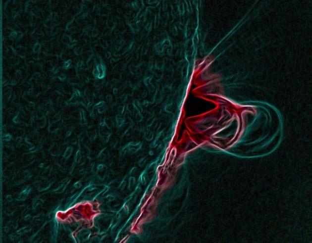 Le corde di flusso magnetico esistono: parola di SDO