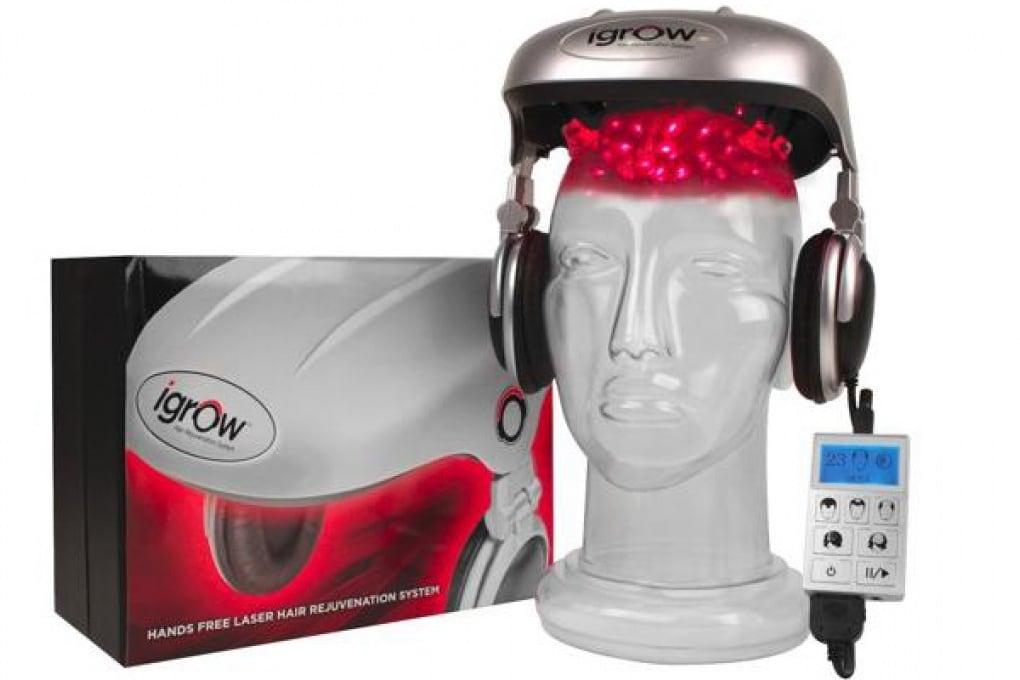 iGrow, il casco che fa crescere i capelli
