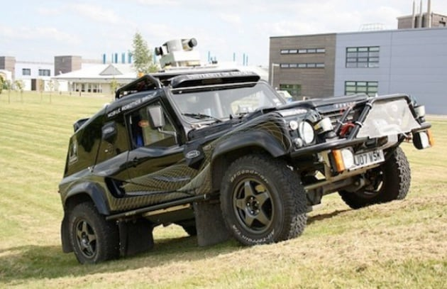 Robot fuoristrada guida da solo senza gps