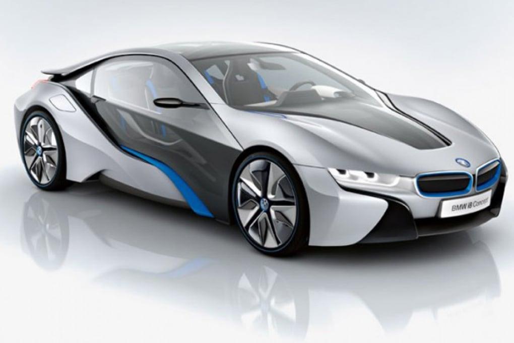 BMW i8 Concept ibrida è la sportiva del futuro