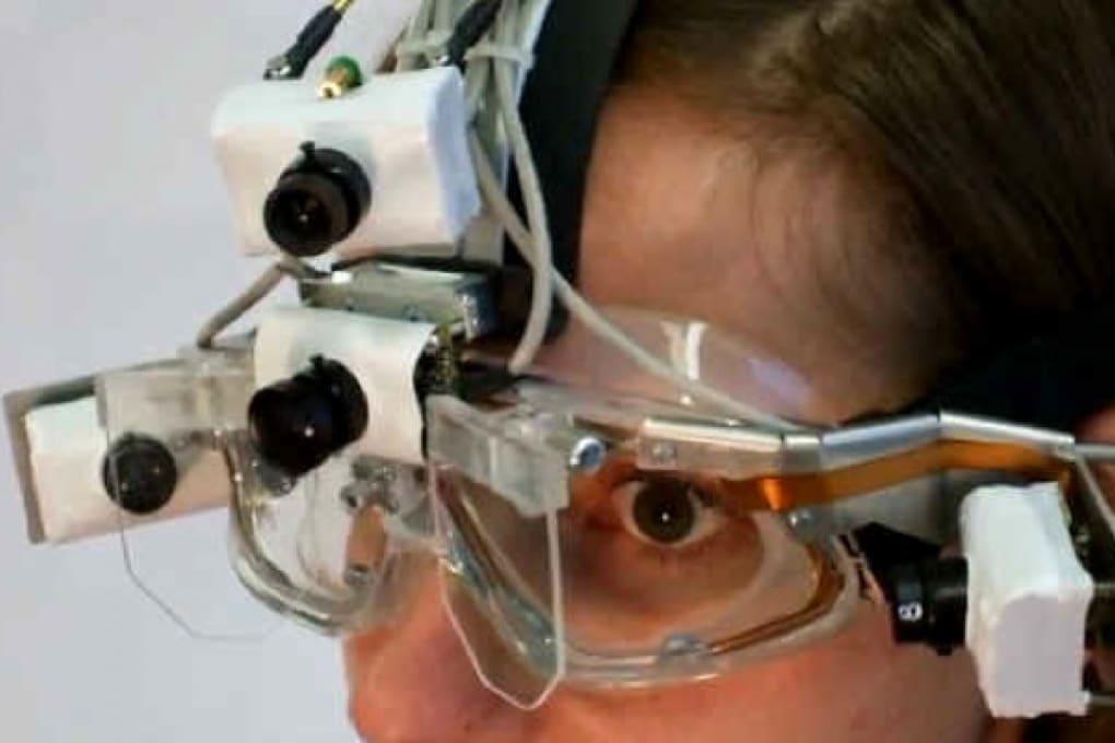 Videocamera che controlli con gli occhi