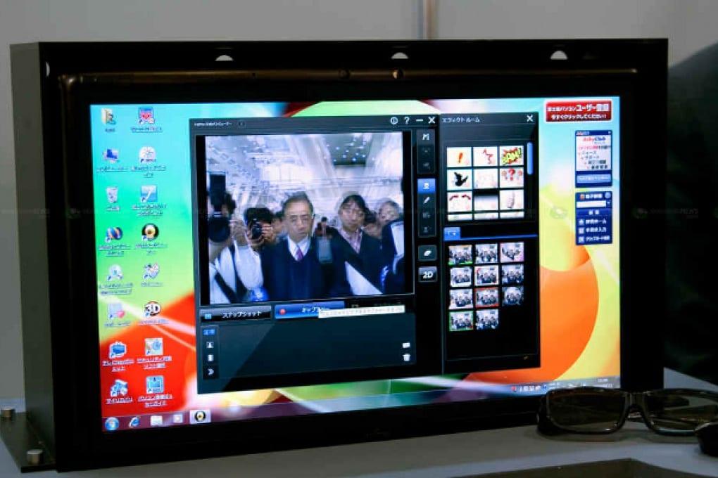 Fujitsu: il 3D sale sulla scrivania