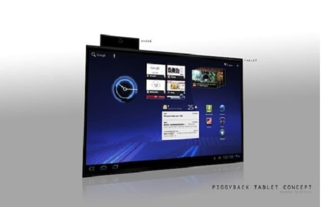 Piggyback: arriva un nuovo concept di tablet!