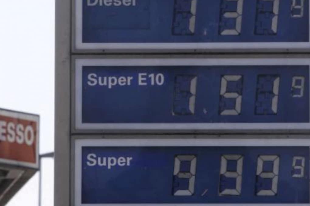 Germania: la benzina sfiora i 10 euro al litro