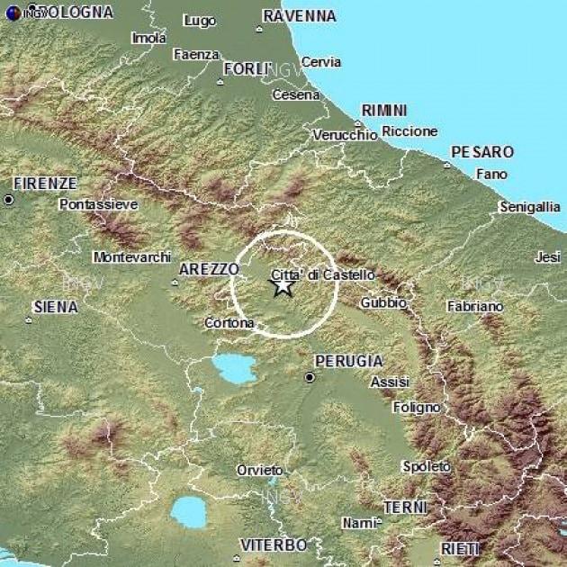 Aprile 2013 - Terremoti: nuova sequenza sismica in Umbria
