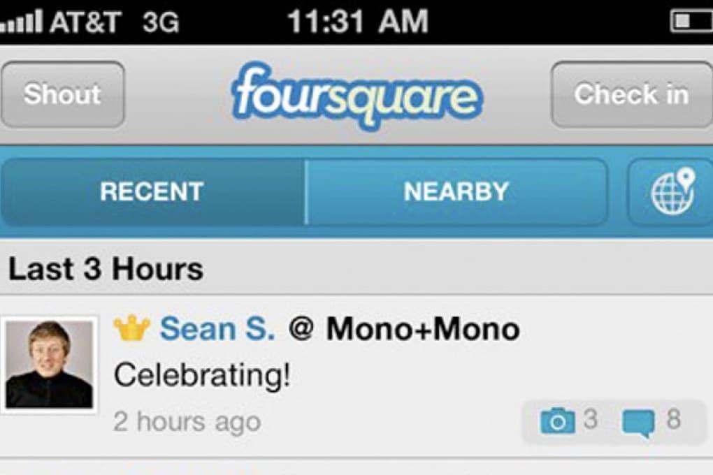 Foursquare aggiunge foto e commenti