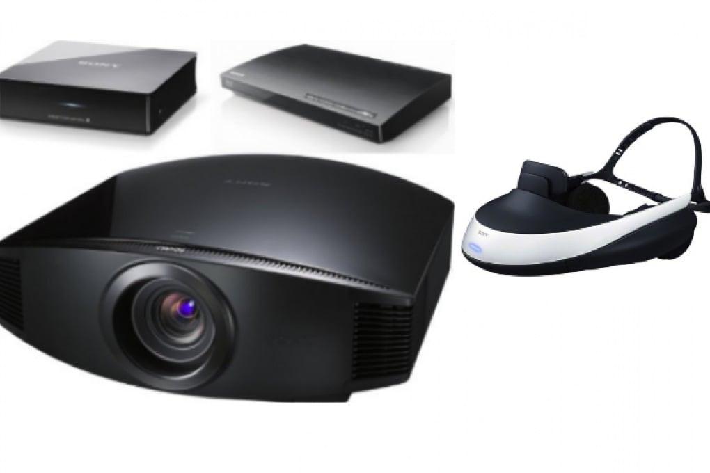 Sony all'IFA: visore 3D e super home theatre