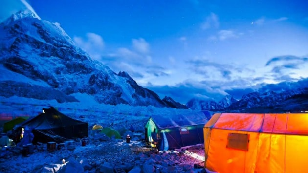 L'Everest in time-lapse