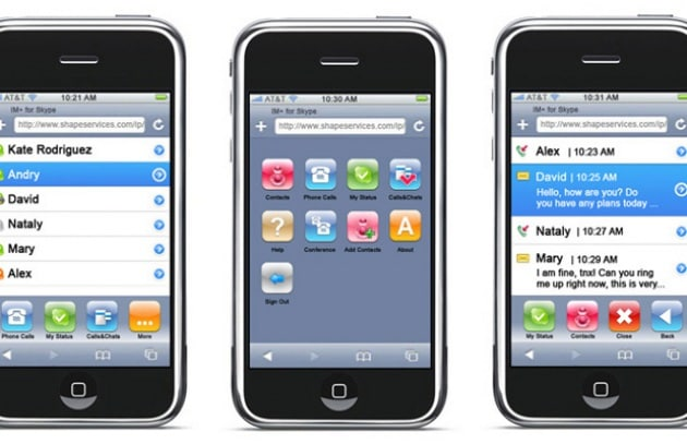 Skype su iPhone: partenza col botto!