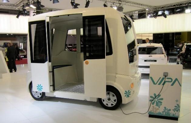 Vipa: il minibus ecologico e automatico