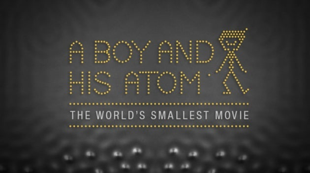 A Boy and his Atom: il film più piccolo del mondo
