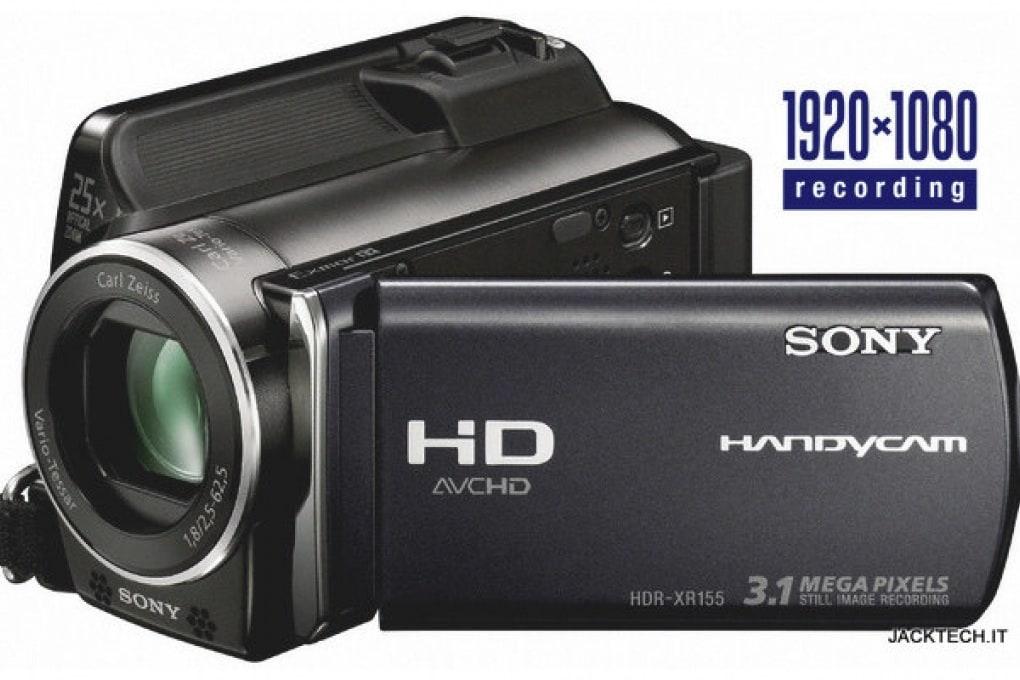 Sony HDR- XR155E – 699 €