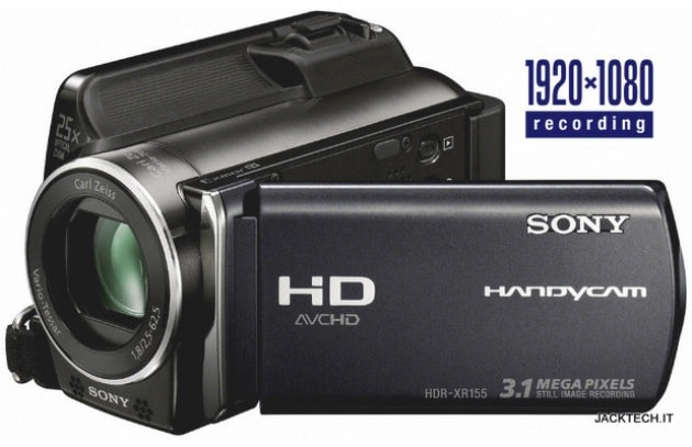 Sony HDR- XR155E – 699 €