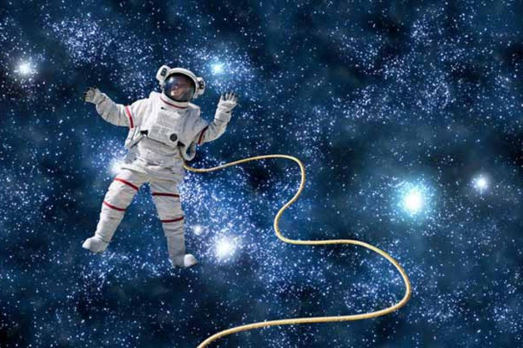 Piangere nello spazio? È praticamente impossibile!