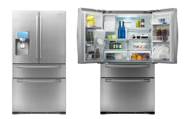 Elettrodomestici lg presenta il frigorifero intelligente for Frigorifero samsung con schermo