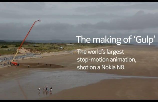 Sumo Science sceglie il Nokia N8 per girare Gulp!