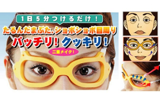 Gli occhiali anti-rughe